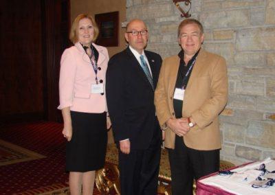 US Ambassador, Sandi Villeneuve and Oryst Dydynsky
